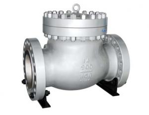 China LCC BODY SS Swing Check Valve TRIM 600LB , API 6D Check Valve With Renewable / Integral Seat on sale