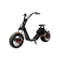 China 1200W 18*9.5 inch 2 Wheel Electric Scooter , Harley two wheeled scooters adults on sale