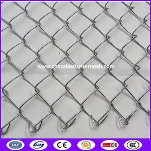 China China knuckled Hot dipped galvanized Chain link fence wire mesh ( KK ) on sale
