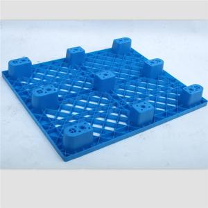 China HDPE Injection Molded Pallets , 4 Way Entry Non Reversible Plastic Pallet Medium Duty on sale