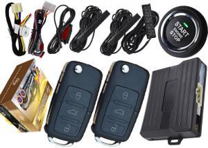 China Intelligent Key Remote Start Keyless Entry System , Anti Hijack Car Alarm Proximity Sensor on sale
