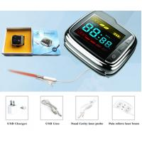 China Factory 0ffer Medical Infrared Laser Therapy Watch Reduce High Blood Pressure and High Cholesterol on sale