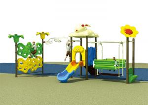 China Metal Outdoor Kids Play Swing , Backyard Swing Sets Kids Outdoor Playset For Home on sale