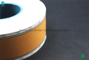 China Air - Smoke Mixture Cooled Cork Tobacco Filter Paper / Wood Base Tipping Paper on sale