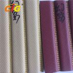 0.4mm -1.2mm Waterproof  PVC Vinyl Leather Fabric For Car Upholstery SGS For Bags