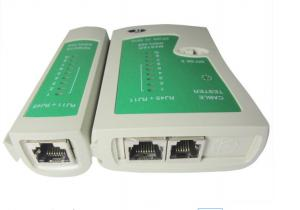 China ROHS Wire Processing Machine RJ45 / RJ11 LAN Network Cable Tester on sale
