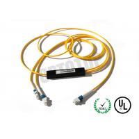 LC UPC 1x2 Single Mode Fiber Splitter 2mm For CATV / EDFA , 1550nm Wavelength