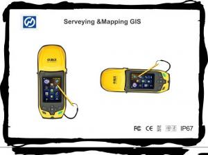 China Microsoft Windows Mobile 6.5 Handheld GPS GNSS Tracker on sale