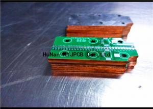 China Cu Base Metal Pcb Board  For COB High Power Led Lights , Custom Pcb Manufacturing on sale