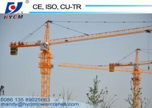 China High Performance Less maintenance 10ton 50m Boom Length QTZ5025 Topkit Tower Crane on sale