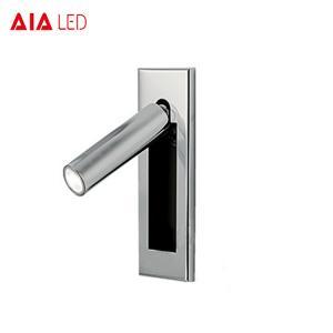 China Flexible indoor IP20 hotel headboard wall light 3W folding lamp interior reading light for bedroom on sale