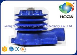 China R200-5 Excavator Hydraulic Parts / Blue Portable Water Pump For Engine D6BR-C on sale