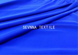 Quality Solid Dyed Colors Spandex Blended Recycled Swimwear Fabric High Stretch Recovery for sale