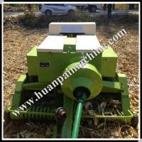 High quality pull type pick-up square hay baler machine for grain straw