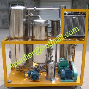 China used cooking oil recycling machine,Vegetable Oil Filter Machine,groundnut oil purifying machine, decolor.dewater supply on sale