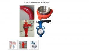 China Drilling mud equipment spare parts on sale