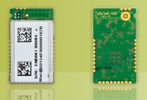 China SMD, ZigBee®-ready RF telit ZE60-2.4 for FFD / RFD with IEEE 802.15.4 PHY, MAC layers on sale