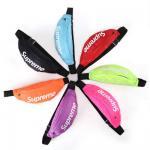 SUPREME waist bag travel waist bag sport bag Unisex Nylon with candy color