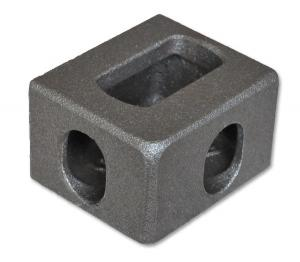 China Container Corner Casting Precision Investment Castings Steel Container Corner Fitting on sale