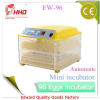 EW-96 Automatic Newest CE certificate automatic incubator for quail eggs for sale