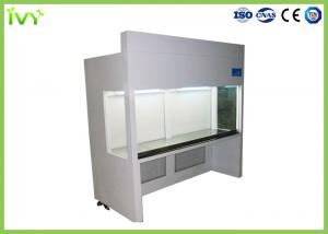 China HEPA Filtered Laminar Flow Bench , Horizontal Laminar Flow Hood High Cleanliness Class on sale