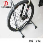 China Steel Material L Shaped Bike Parking Rack Bicycle Accessories Parts Floor Display Stand