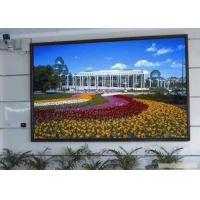 China P3 Indoor LED Advertising Displays Led Video Screen With Steel Cabinet on sale