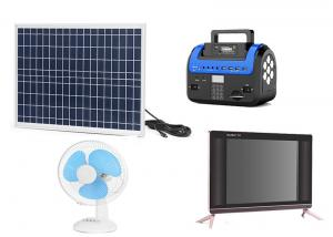 China Kenya M Pesa Solar , Pay As You Go Solar Panels Easy Operation With FM Radio on sale