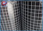 Galvanized Welded Wire Mesh Rolls For Construction 0.5M - 3.0M Width