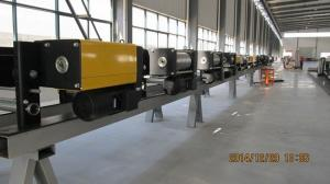 China 80 Ton Electric Wire Rope Hoist Trolley For Double Beam Crane With Remote Control on sale