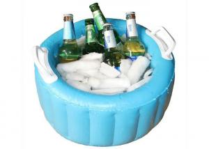 China Small Inflatable Ice Bucket / Blow Up Basin For Cold Beer And Fruit on sale
