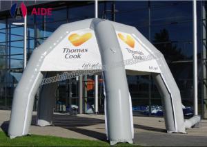 Quality Refugios inflables formados araña de las tiendas de campaña de la tienda inflable del acontecimiento for sale