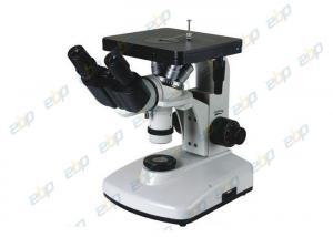 China Binocular Metallurgical Microscope 6V20W Halogen Bulb 100X - 1250X on sale
