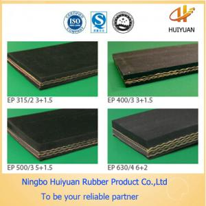 China Chemical Resistant Conveyor Rubber Belt for Salt (EP100-EP500) on sale