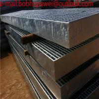 galvanized serrated steel bar grating weight, galvanized