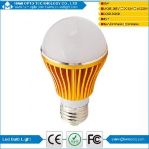 China Shenzhen factory E27 led bulb light 5w on sale
