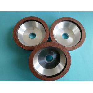 Small Diameter Bowl Shape Diamond Grinding Wheel , 100*20*20*10*5 Resin Bond Diamond Wheels