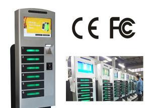 China Estação de carregamento ereta livre do telemóvel com 6 o cofre forte E - trave a caixa de carregamento on sale