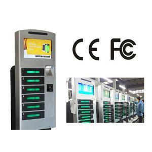 China Station de charge debout libre de téléphone portable avec 6 le coffre-fort E - fermez à clef la boîte de remplissage on sale