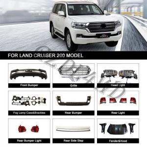 China Plastic Conversation Body Kit For Toyota Land Cruiser Fj200 Lc200 2008 - 2015 Upgrade To 2016 on sale