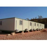 Temporary Storage Container Houses Steel Tube Cross Member With Air - Conditioning