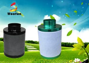 China Cartridge Grow Room Carbon Filter 400mm Height For Plant Growing Ventilation on sale
