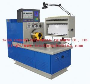 China Screen display testing data diesel fuel injection pump test bench 12PSB with industrial computer on sale