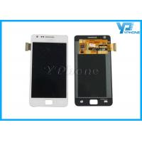 China Samsung Phone Galaxy S2 i9100 LCD Screen Replacement 800 * 480 , White Color on sale