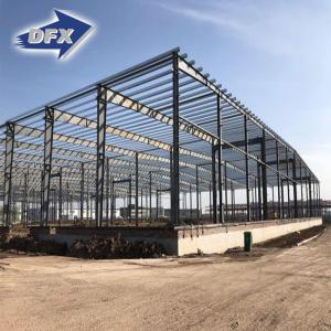 China painting or hot galvanized light steel structure building prefabricated warehouse for construction on sale