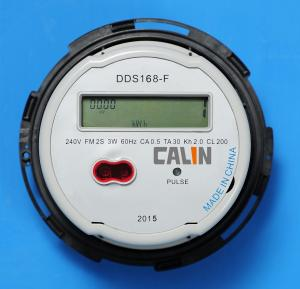 China Socket Type Single Phase Electric Meter Ansi Standard Electric Prepayment Meter on sale