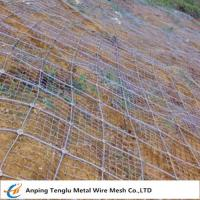 China Rockfall Protection Nets|PVC Coated or Galvanized Hexagonal Wire Mesh for Protection on sale