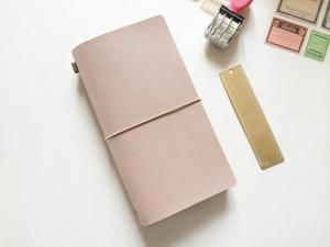 China Standard Size Midori Refillable Leather Journal on sale