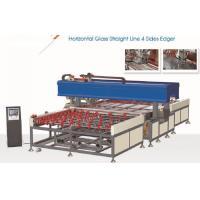 Horizontal 4 Side Glass Edging Machine Full Automatic,Automatic Glass Seaming Machine,Horizontal Glass Seaming Machine