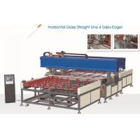 Horizontal 4 Side Glass Edging Machine Full Of Automatic , High Speed